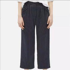 Eileen Fisher Indigo Wide Leg Pants (Large)